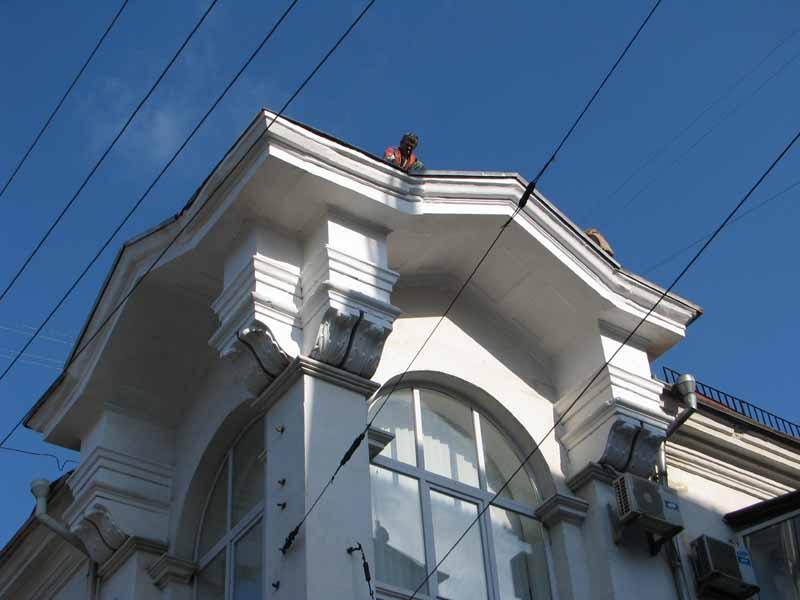 Покраска домов фасадов кирпичного цвета